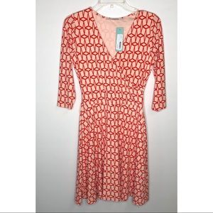 41 Hawthorn Renesme faux wrap dress